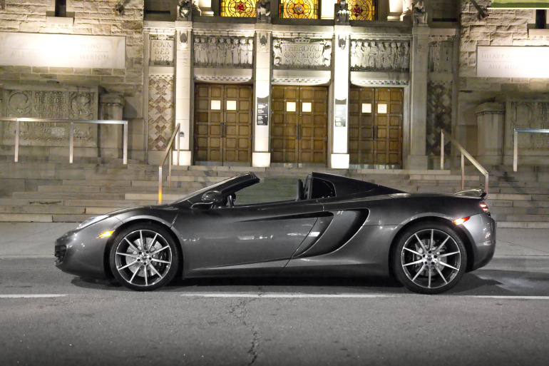 48 hrs in McLaren's 616 hp go-fast device: the brilliant 12C Spider - slide 5