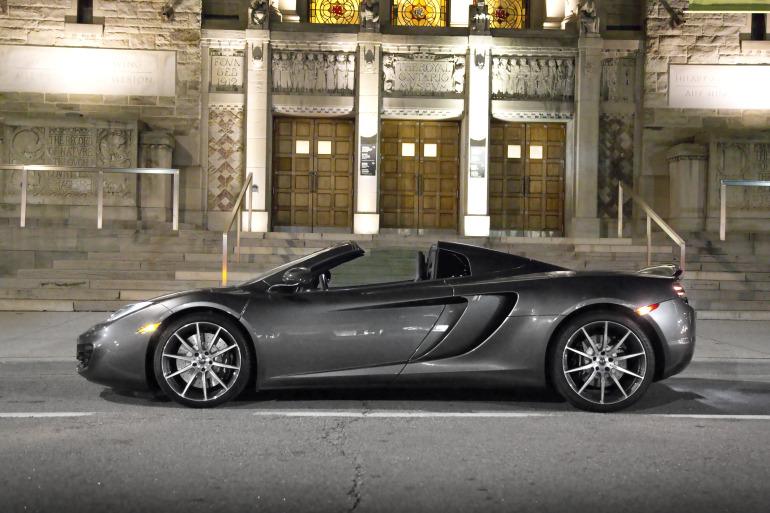 48 hrs in McLaren's 616 hp go-fast device: the brilliant 12C Spider - slide 5
