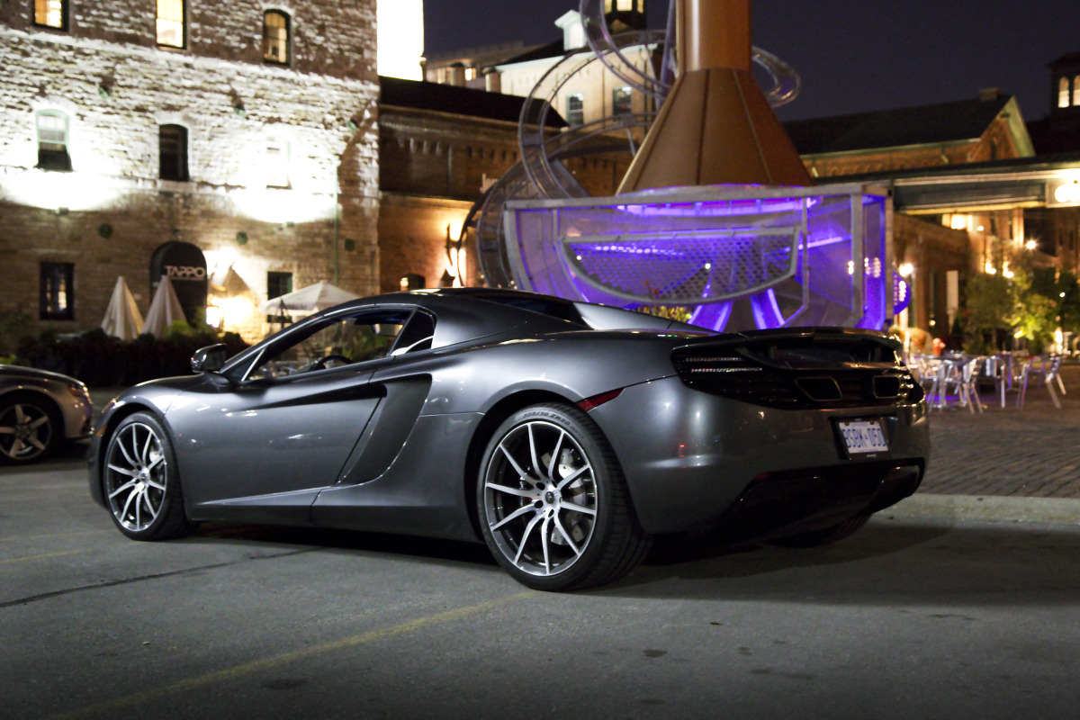 48 hrs in McLaren's 616 hp go-fast device: the brilliant 12C Spider - slide 3