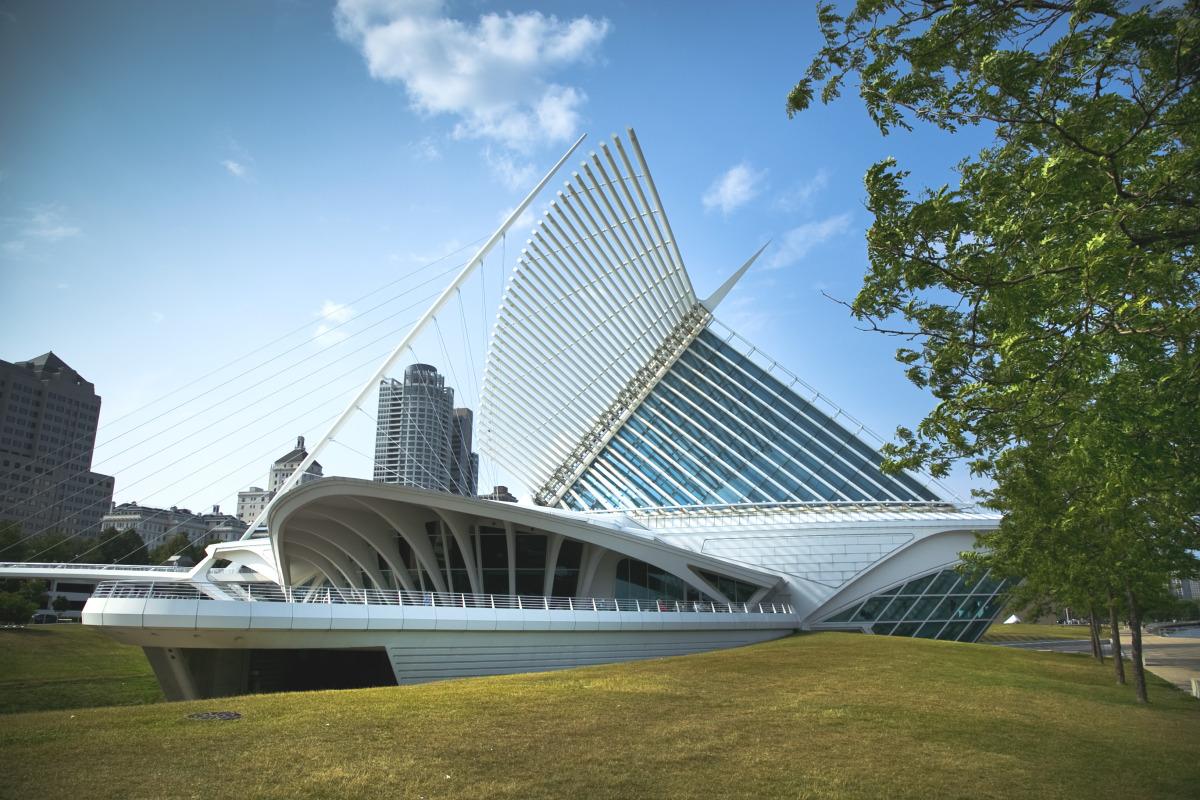 Wisconsin's lonely Calatrava - slide 1