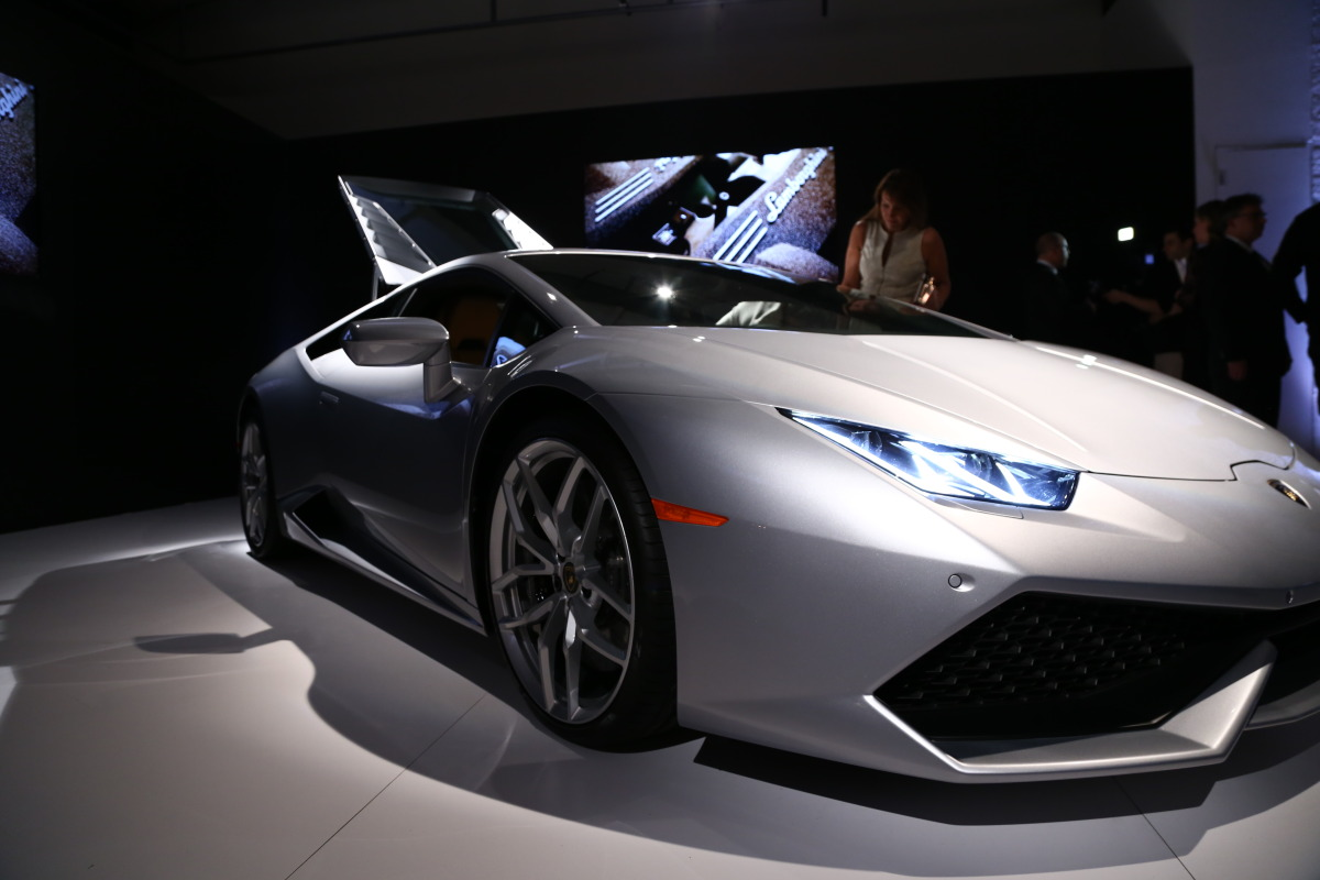 In photos: Lamborghini's NYC Huracan debut - slide 19