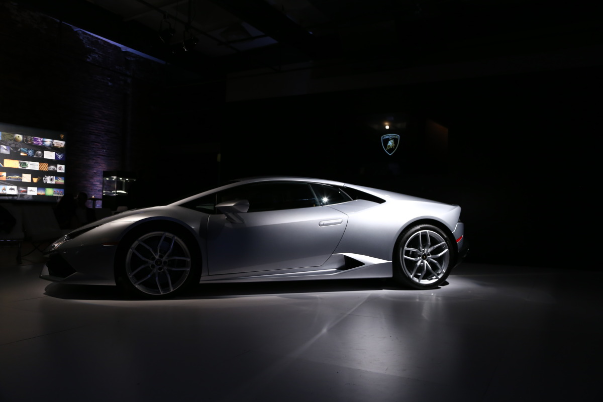 In photos: Lamborghini's NYC Huracan debut - slide 5