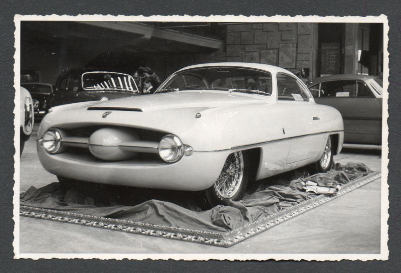 Turin's Scorpion: 1953 Abarth Ghia restored to former showcar status - slide 19