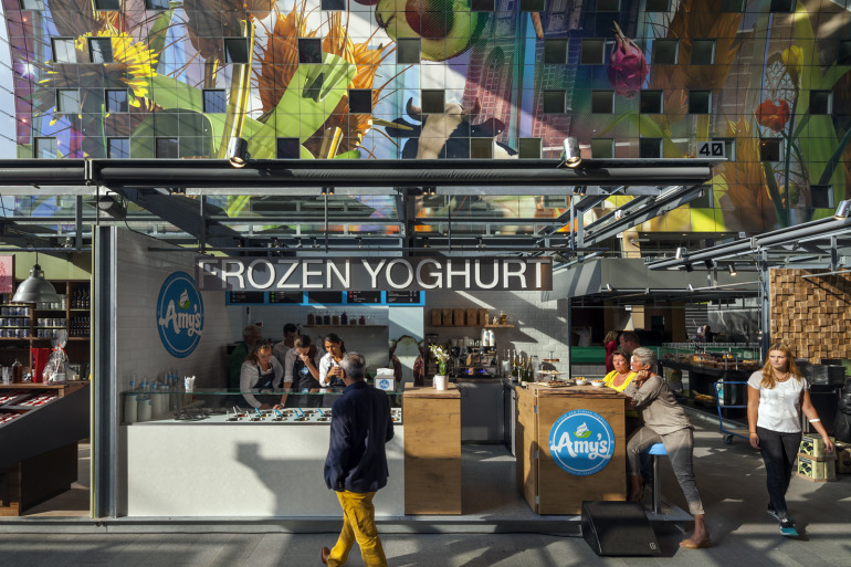 Rotterdam's Dutch person aquarium, MARKET HALL, offers residents a vibrant, diverse mixed-use space - slide 2