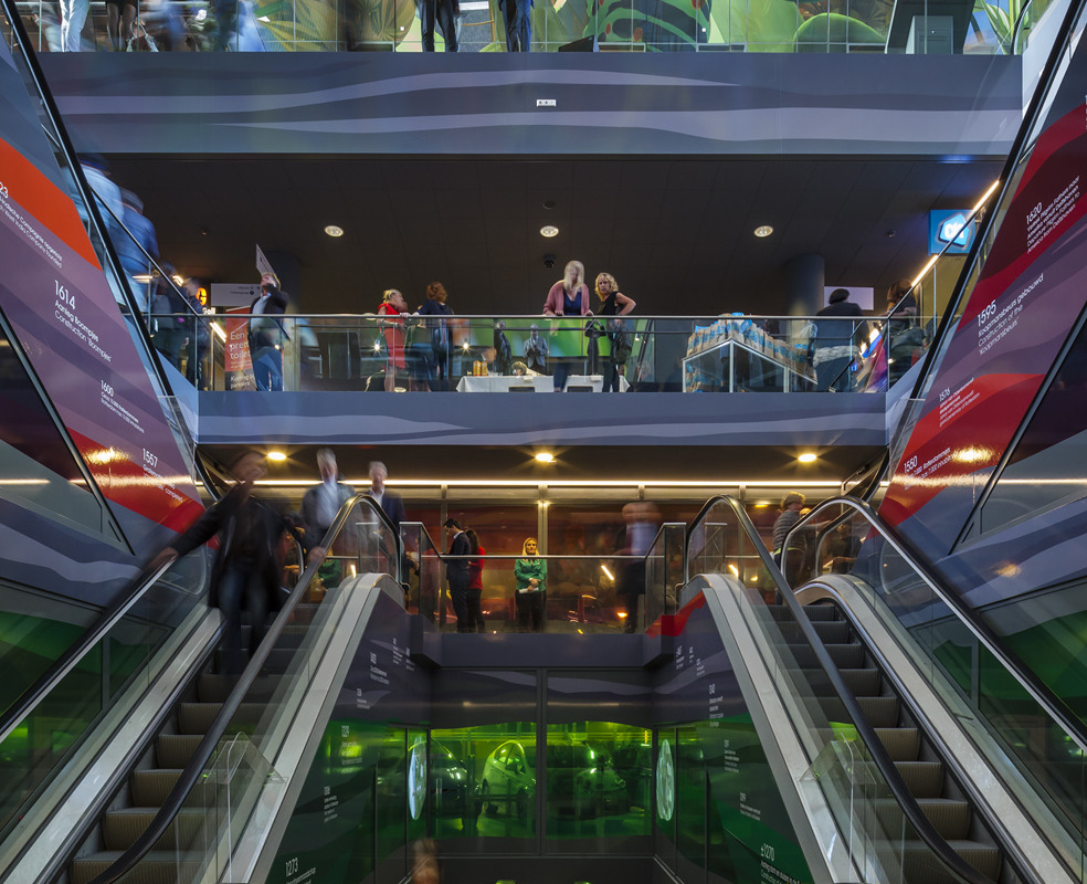 Rotterdam's Dutch person aquarium, MARKET HALL, offers residents a vibrant, diverse mixed-use space - slide 3
