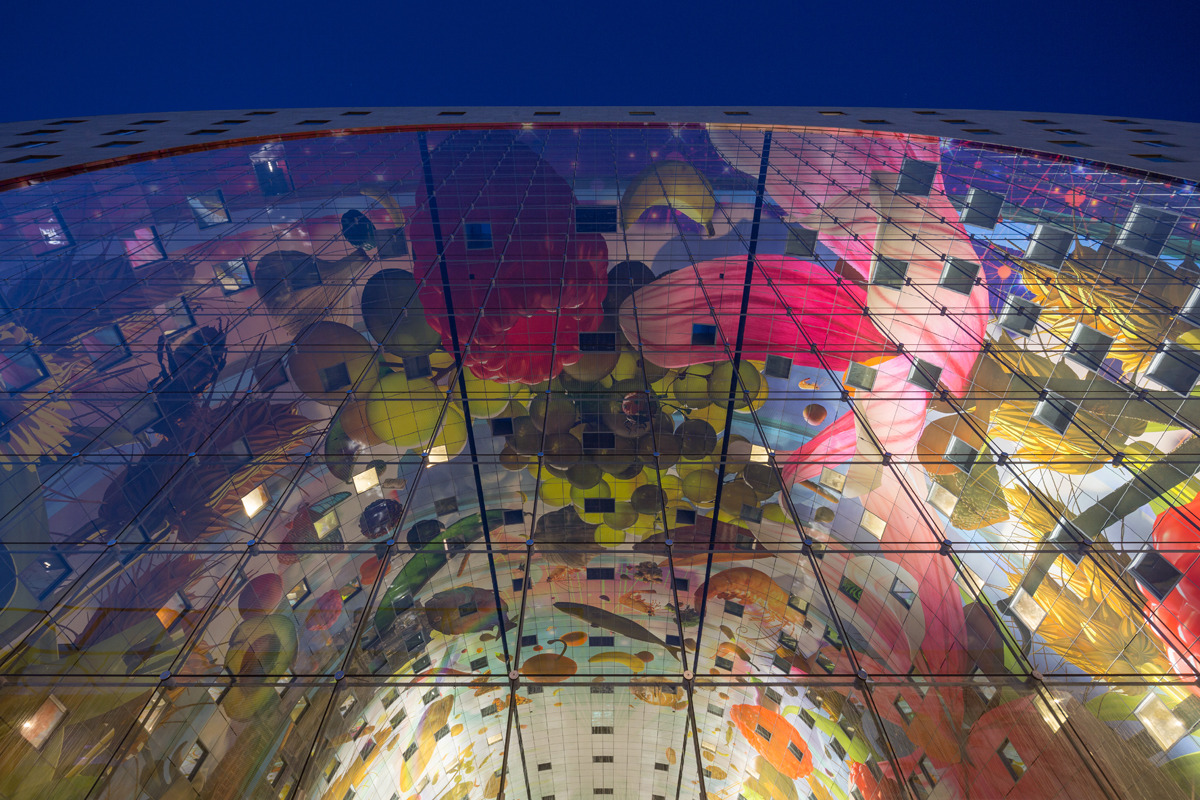 Rotterdam's Dutch person aquarium, MARKET HALL, offers residents a vibrant, diverse mixed-use space - slide 11