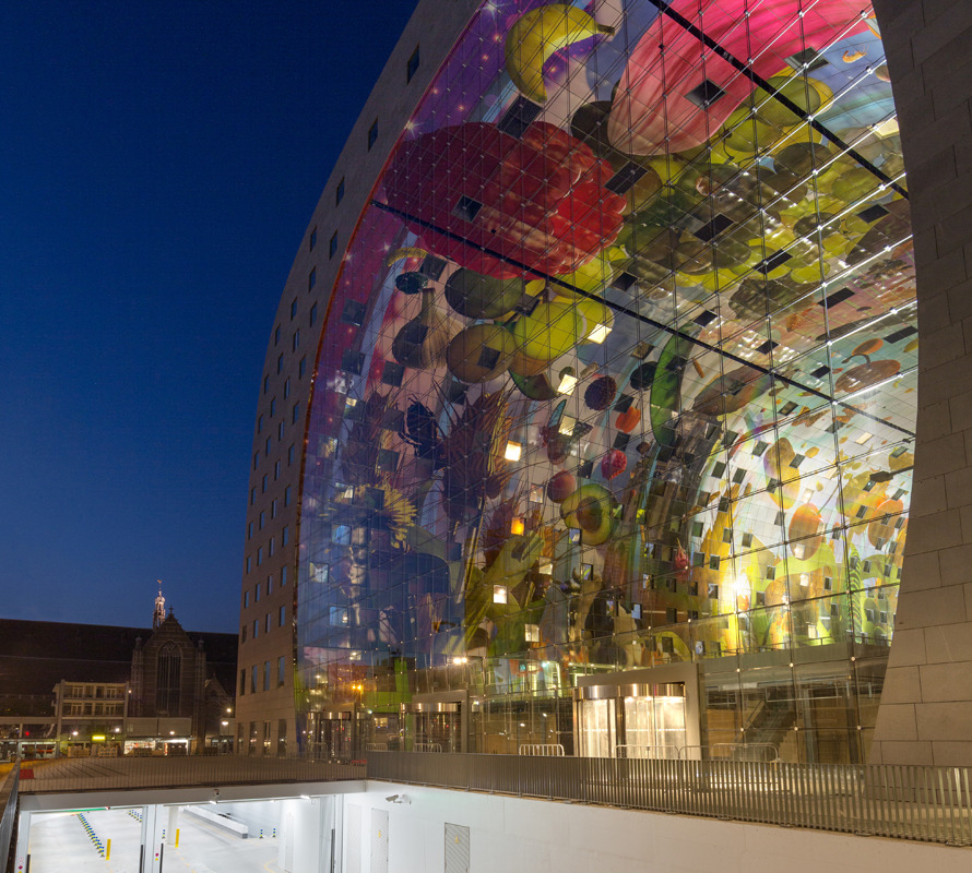 Rotterdam's Dutch person aquarium, MARKET HALL, offers residents a vibrant, diverse mixed-use space - slide 12