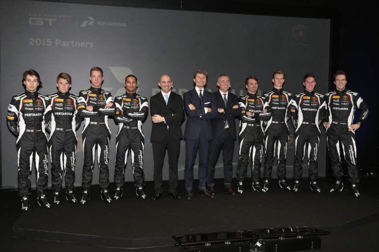 Lamborghini's new Huracan GT3 is green-to-go for the 2015 Blancpain Endurance Series - slide 7