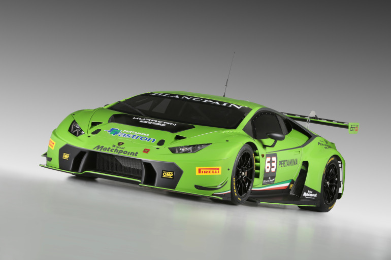 Lamborghini's new Huracan GT3 is green-to-go for the 2015 Blancpain Endurance Series - slide 3