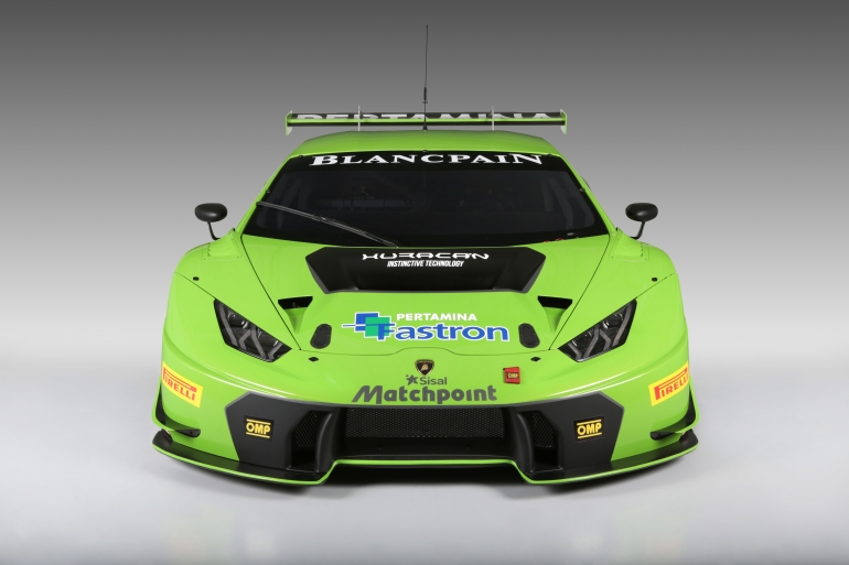 Lamborghini's new Huracan GT3 is green-to-go for the 2015 Blancpain Endurance Series - slide 4