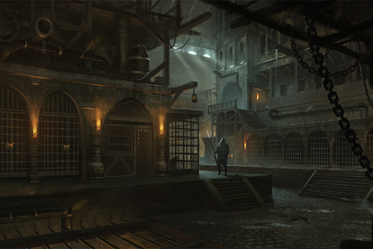THE ART OF CREATING VISCERAL, CYBER-PUNKISH VIDEO GAME ENVIRONS - slide 14