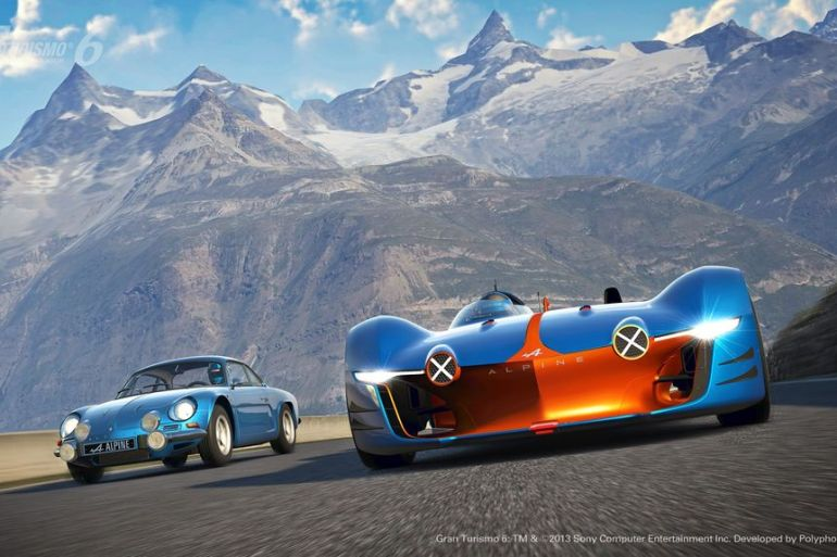 GT6 Alpine Vision GT is ready to blow the pants off your pixels…or vice versa - slide 13