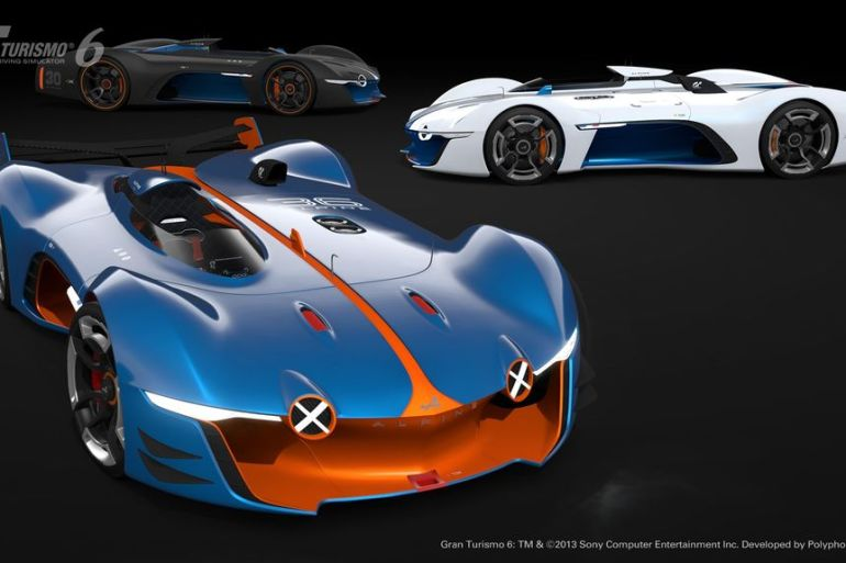 GT6 Alpine Vision GT is ready to blow the pants off your pixels…or vice versa - slide 14