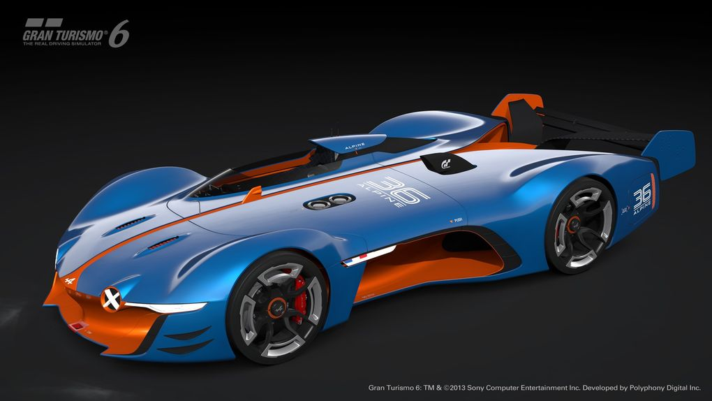 GT6 Alpine Vision GT is ready to blow the pants off your pixels…or vice versa - slide 1