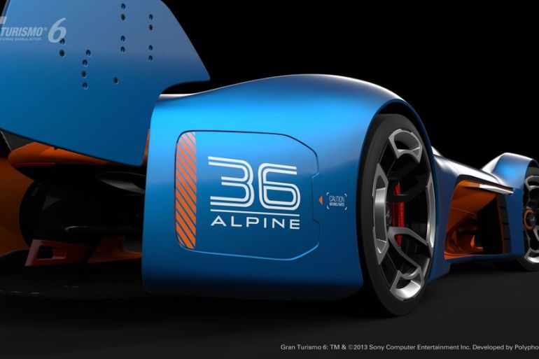 GT6 Alpine Vision GT is ready to blow the pants off your pixels…or vice versa - slide 2