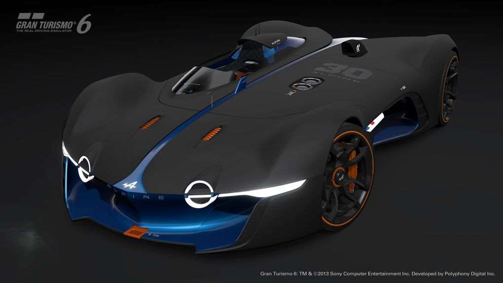 GT6 Alpine Vision GT is ready to blow the pants off your pixels…or vice versa - slide 3