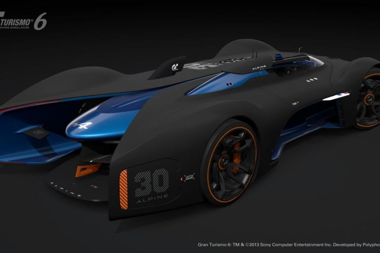 GT6 Alpine Vision GT is ready to blow the pants off your pixels…or vice versa - slide 4