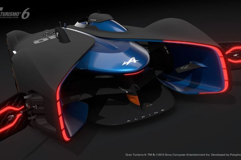GT6 Alpine Vision GT is ready to blow the pants off your pixels…or vice versa - slide 5