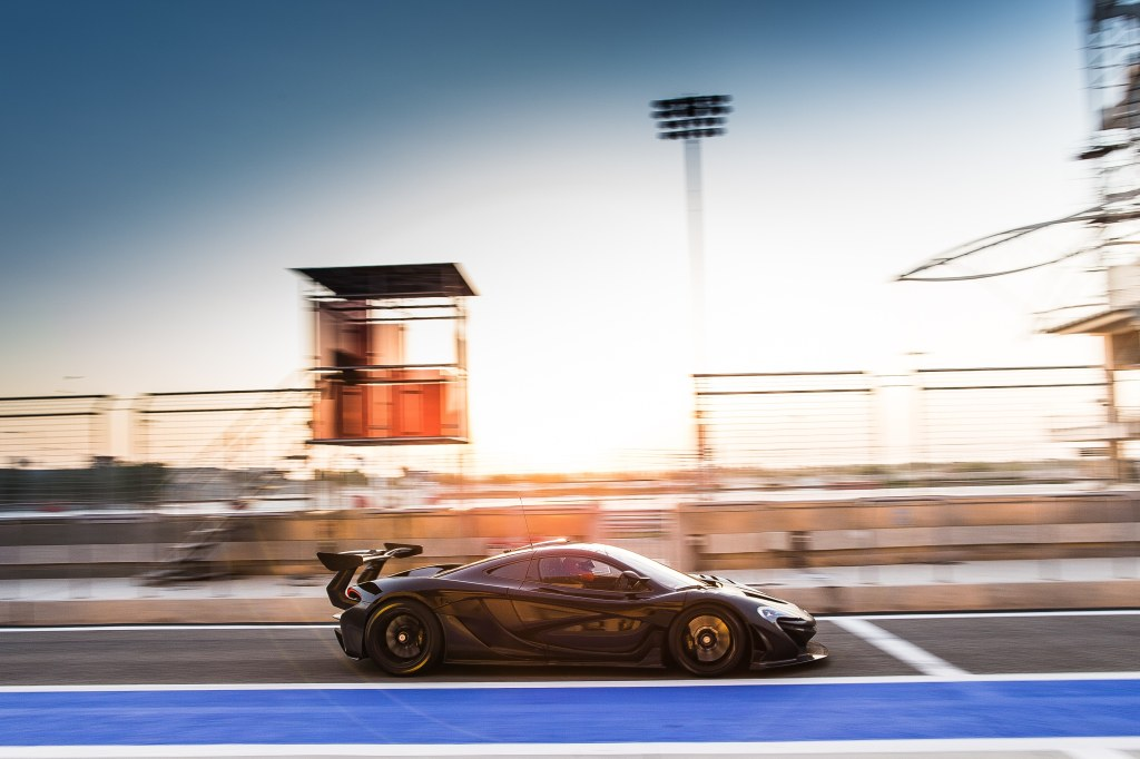 Only 30 or so track-only P1 GTR's will be available to existing P1 owners