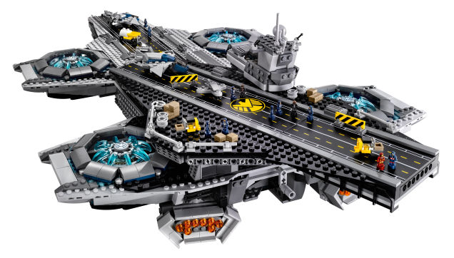 LEGO to unleash 2,996 piece S.H.I.E.L.D Helicarrier on your hardwood