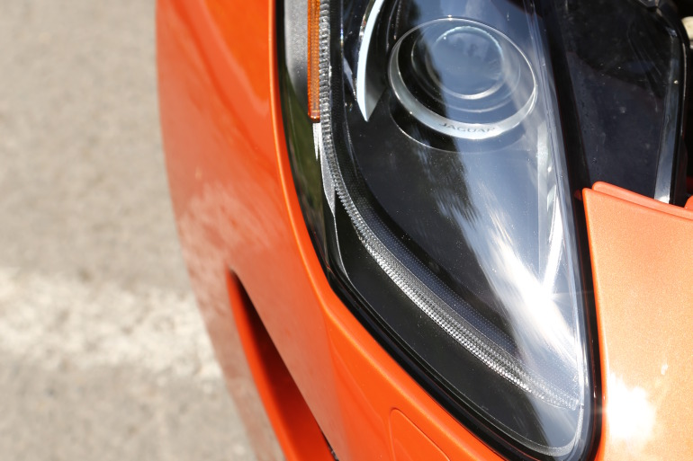 C/D/E/F! Jaguar's 495hp F-type roadster is the one true heir to the E-type throne - slide 15