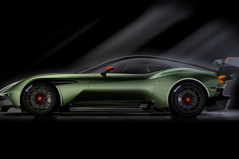 Limited to only 24 units at $2.3 million, Aston Martin's 800 hp track-only Vulcan is highly illogical - slide 3