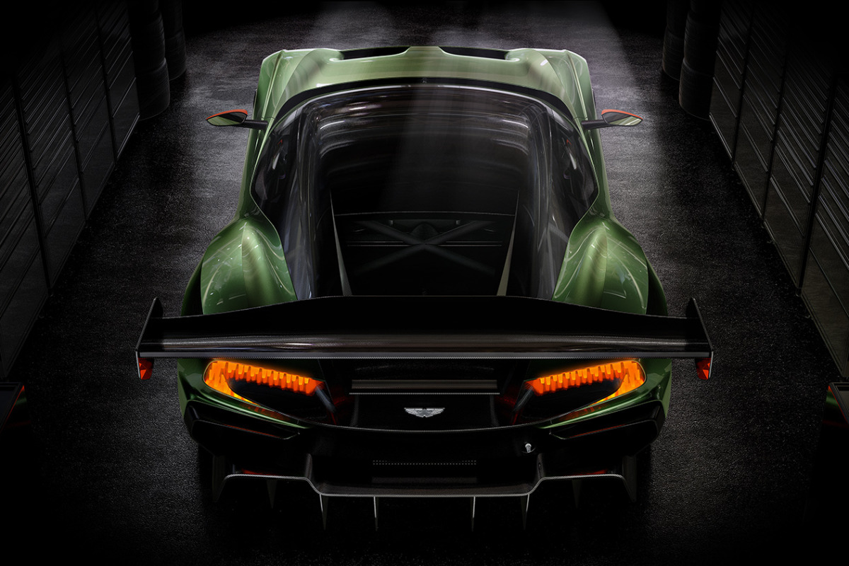 Limited to only 24 units at $2.3 million, Aston Martin's 800 hp track-only Vulcan is highly illogical - slide 4