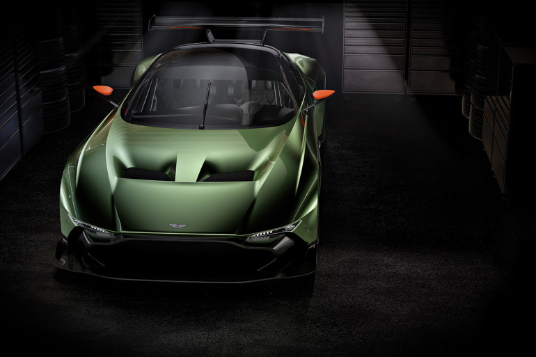 Limited to only 24 units at $2.3 million, Aston Martin's 800 hp track-only Vulcan is highly illogical - slide 5