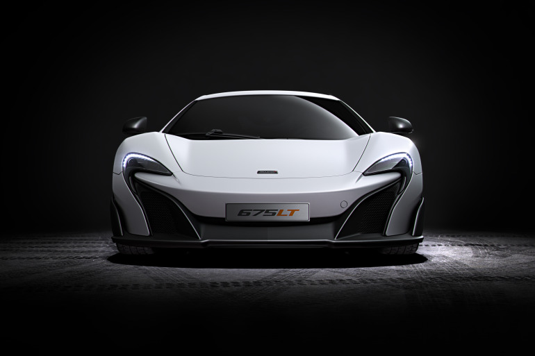 McLaren's newly unveiled 675 LT (Long Tail) is anything but stretchy in the butt - slide 1