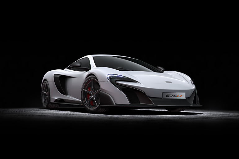 McLaren's newly unveiled 675 LT (Long Tail) is anything but stretchy in the butt - slide 2