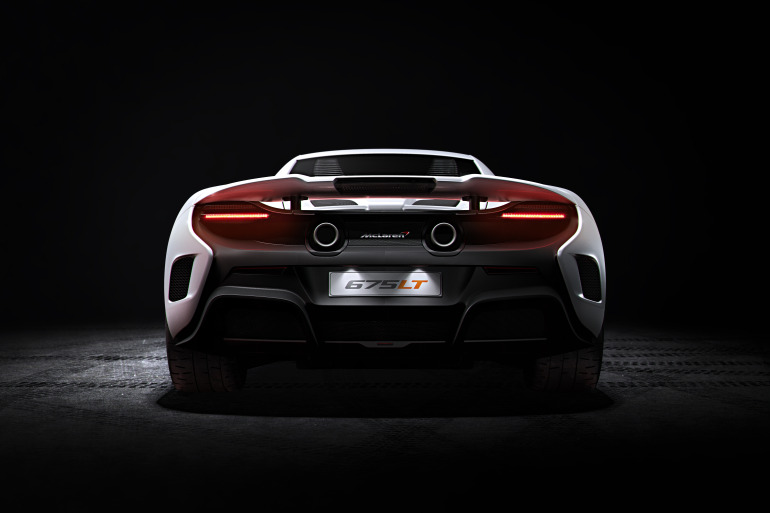 McLaren's newly unveiled 675 LT (Long Tail) is anything but stretchy in the butt - slide 3