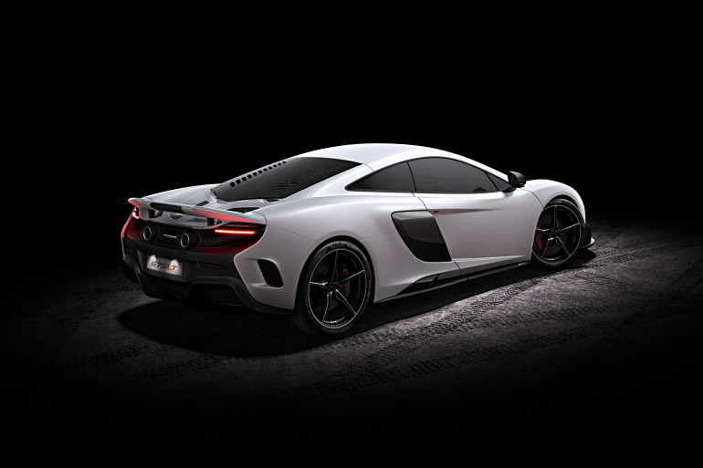 McLaren's newly unveiled 675 LT (Long Tail) is anything but stretchy in the butt - slide 4