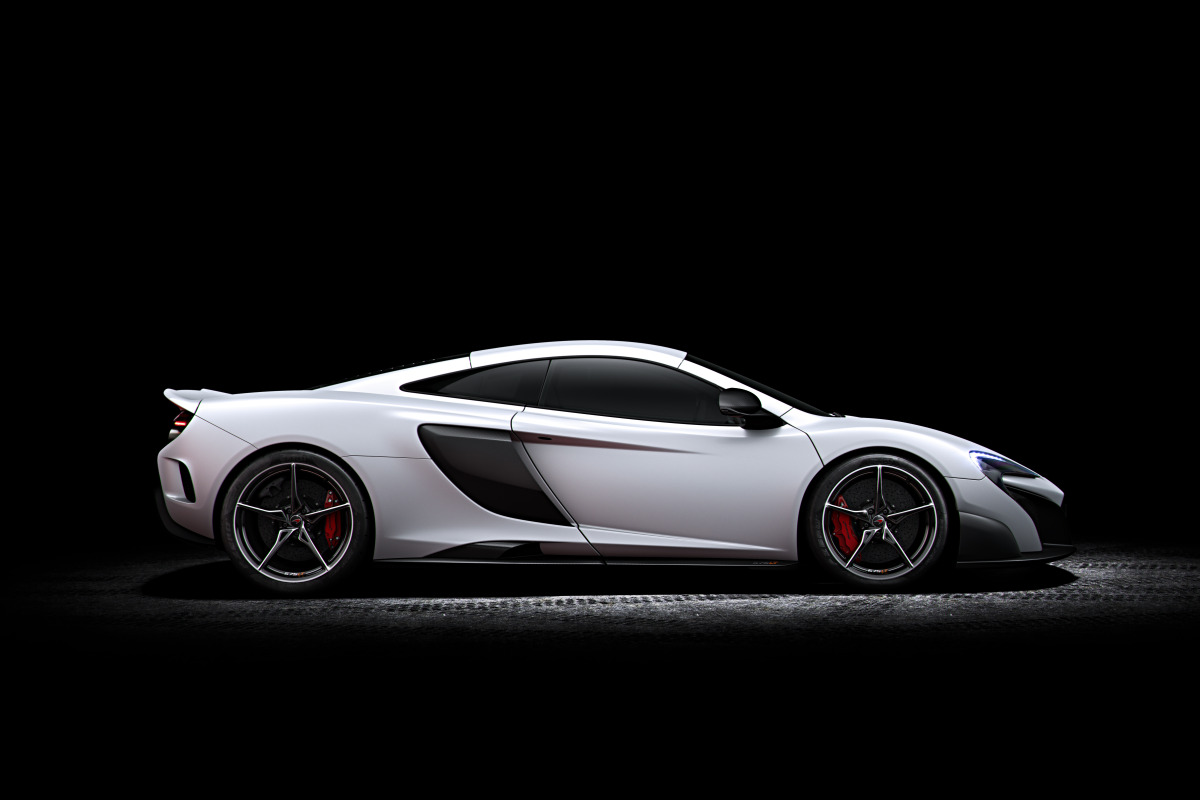 McLaren's newly unveiled 675 LT (Long Tail) is anything but stretchy in the butt - slide 5