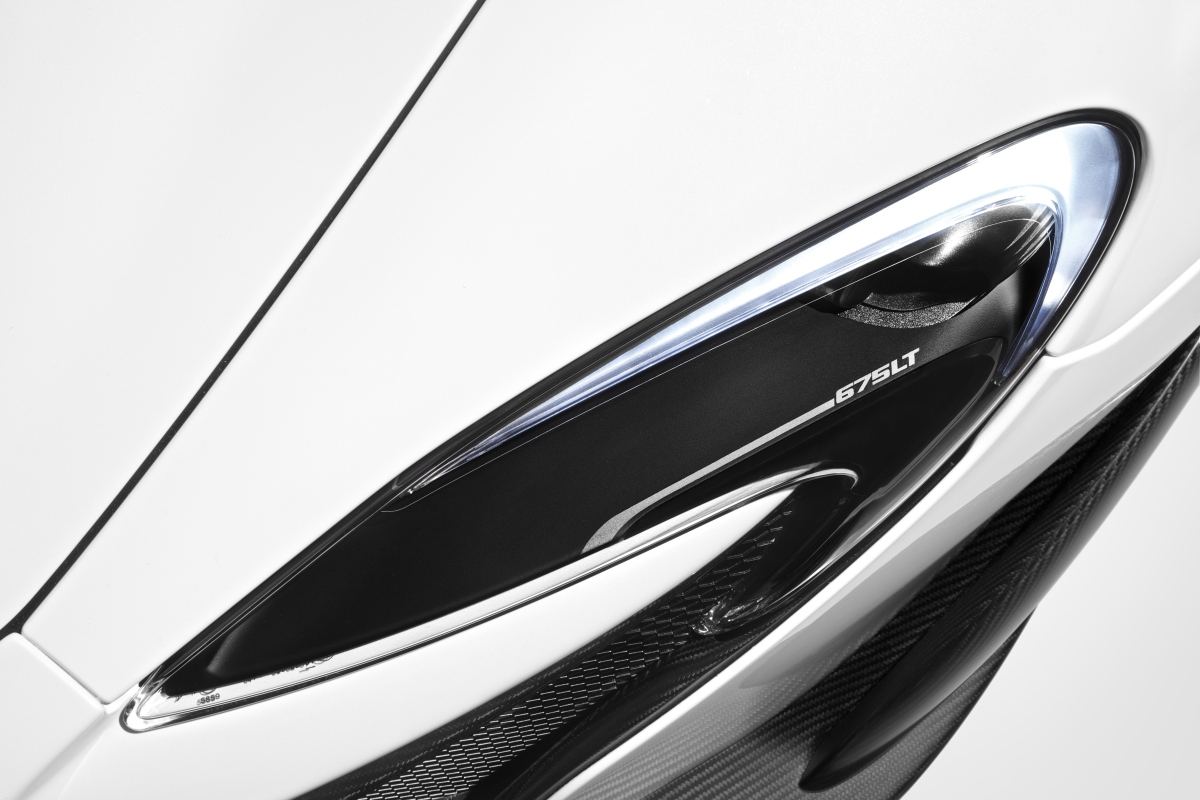 McLaren's newly unveiled 675 LT (Long Tail) is anything but stretchy in the butt - slide 8