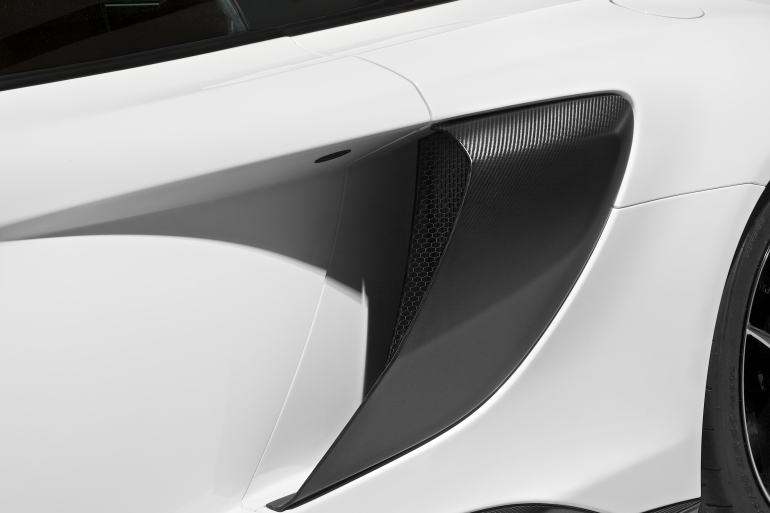 McLaren's newly unveiled 675 LT (Long Tail) is anything but stretchy in the butt - slide 11