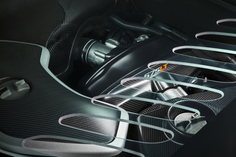 McLaren's newly unveiled 675 LT (Long Tail) is anything but stretchy in the butt - slide 12