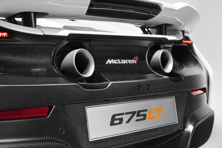 McLaren's newly unveiled 675 LT (Long Tail) is anything but stretchy in the butt - slide 13