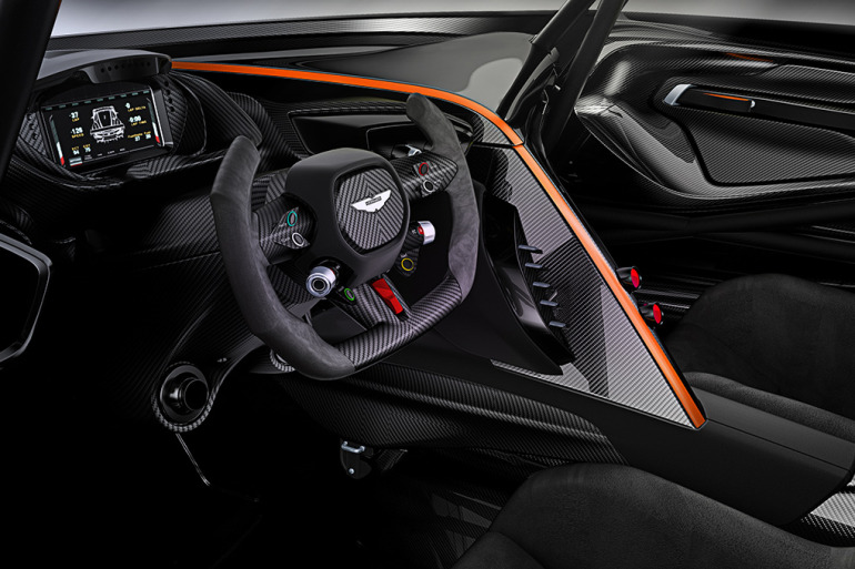 Limited to only 24 units at $2.3 million, Aston Martin's 800 hp track-only Vulcan is highly illogical - slide 6
