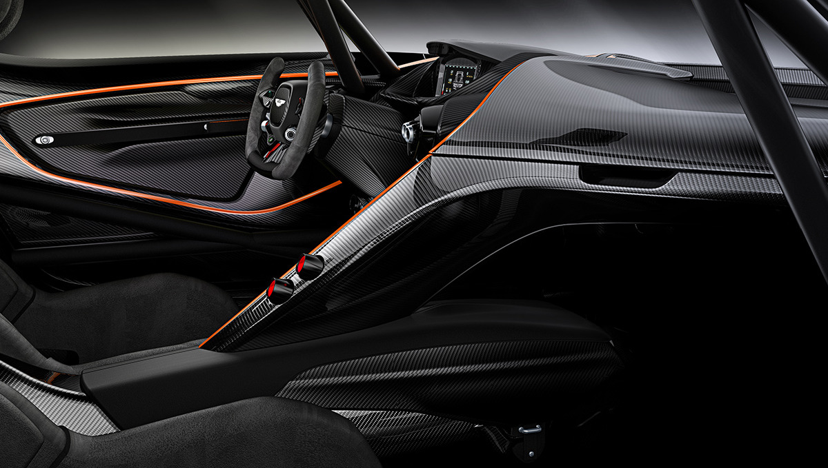 Limited to only 24 units at $2.3 million, Aston Martin's 800 hp track-only Vulcan is highly illogical - slide 7