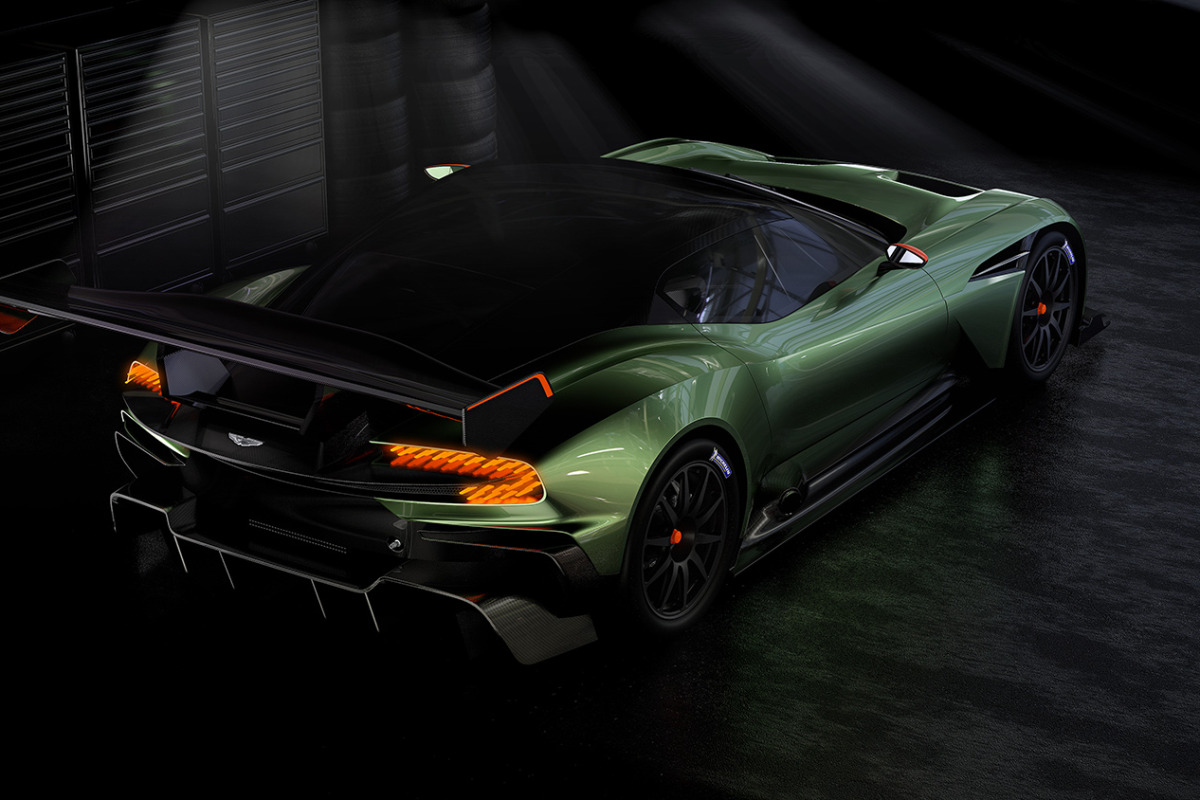 Limited to only 24 units at $2.3 million, Aston Martin's 800 hp track-only Vulcan is highly illogical - slide 9