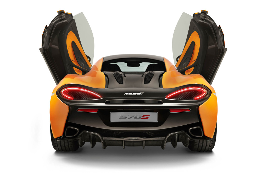 570S rear is more P1 than 650S