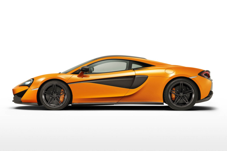 570S – McLaren unveils its new 570 hp Porsche-rivalling econobox at NYC Auto Show - slide 14