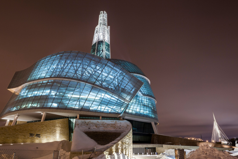 The new Canadian Museum for Human Rights gives Winnipeg serious architectural street cred - slide 1