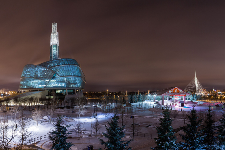 The new Canadian Museum for Human Rights gives Winnipeg serious architectural street cred - slide 15