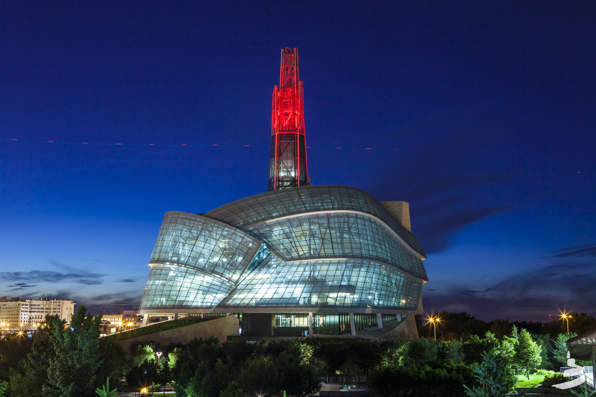The new Canadian Museum for Human Rights gives Winnipeg serious architectural street cred - slide 33