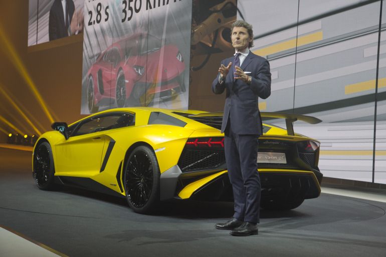 Interview: Lamborghini's CEO Stephan Winkelmann & Design Director, Filippo Perini - slide 2
