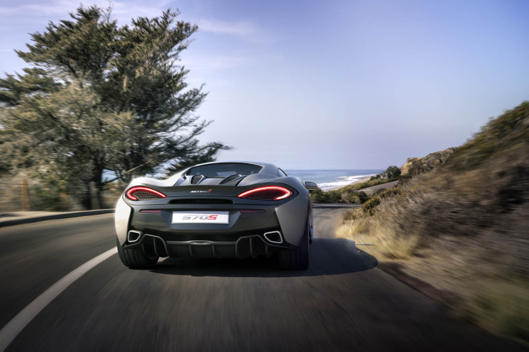 570S – McLaren unveils its new 570 hp Porsche-rivalling econobox at NYC Auto Show - slide 1