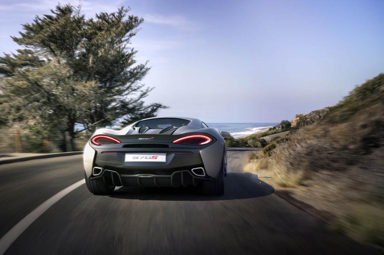 570S – McLaren unveils its new 570 hp Porsche-rivalling econobox at NYC Auto Show - slide 1
