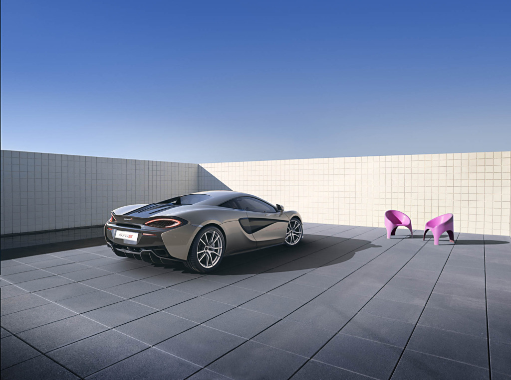 570S be the baby of the family but still take your lunch money