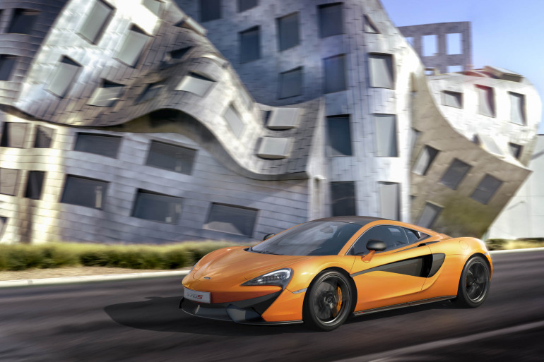 570S – McLaren unveils its new 570 hp Porsche-rivalling econobox at NYC Auto Show - slide 10